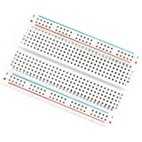 Veewon 400 Tie-points Solderless Prototype Breadboard PCB Experiment Test Circuit Board