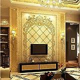 400cmX280cm Wallpaper 3D Stereoscopic Tarot door Continental carved backdrop Large Murals Wallpaper Wall Paper papel de parede,400cmX280cm