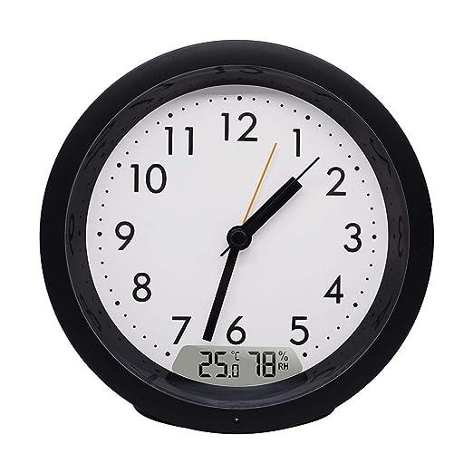 DYHM Despertador Reloj Digital Moderno Temperatura Humedad ...