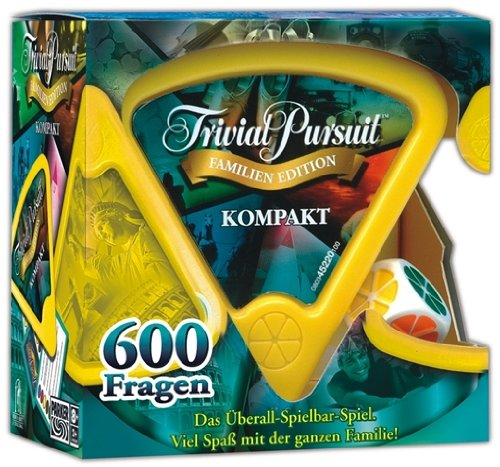 Hasbro - Trivial Pursuit Kompakt-Familie (oesterr. Version)
