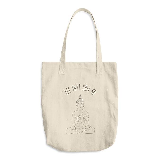 Amazon.com: Que mierda Go – Bolsa de algodón, divertido Yoga ...