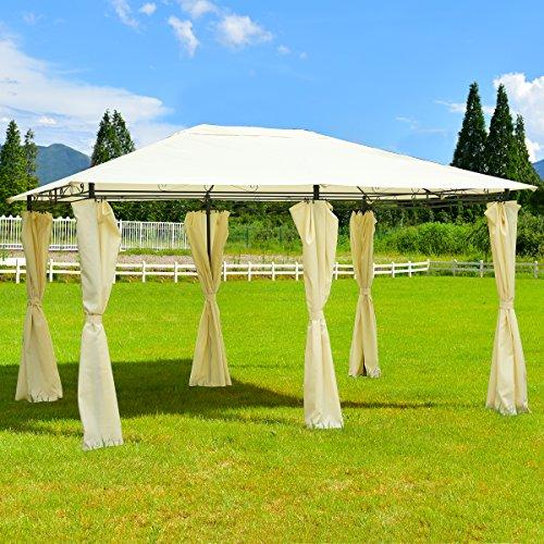Cheap  TANGKULA 13'x 10' Gazebo Canopy Shelter Outdoor Garden Patio Party Tent Outdoor..