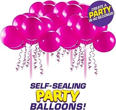 Amazon.com: Bunch O Balloons - Globos de látex autoadhesivos ...