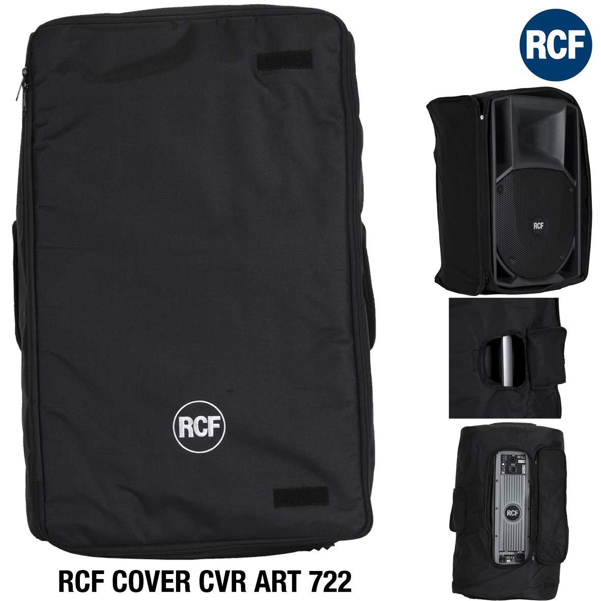 Loudspeaker dust cover, Negro, Nylon, 720 mm, 400 mm, 90 mm Protector contra el polvo RCF CVR ART 722 Loudspeaker dust cover Negro