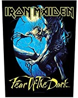 Dos Patch officielle Iron Maiden Fear Of The Dark (Import Allemagne)