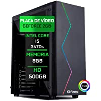 Pc Gamer Fácil Intel Core I5 3470S 8Gb DDR3 GeForce GT 730 2Gb 128 bits HD 500Gb