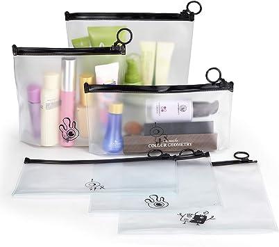 Kulturbeutel Clear Travel Kosmetiktasche Transparente Handtasche mit