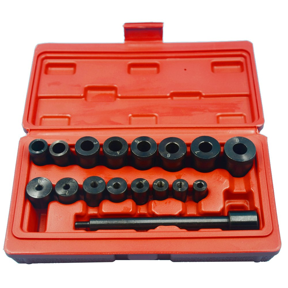 KKmoon 17pcs Clutch Vacancy Calibration Tool Auto Repair Steam Protection Tools Hole Opener
