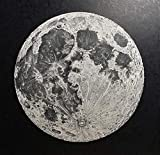 Full Moon 10''x10'' hand-drawn pen and ink print