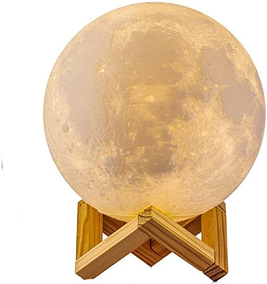 Full Moon Lamp 3d Led Night Modern Floor Lamp Dimmable Touch Control Brigntness Usb Charging White Warm Light Luna Moon Lamp With Stand 10cm Amazon Co Uk Lighting