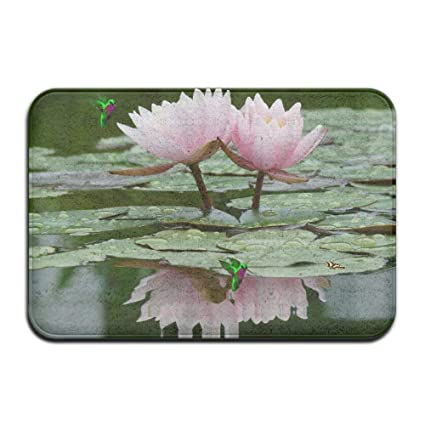 Amazon toilet bath rug peaceful lotus flower in the water toilet bath rug peaceful lotus flower in the water screensaver mightylinksfo