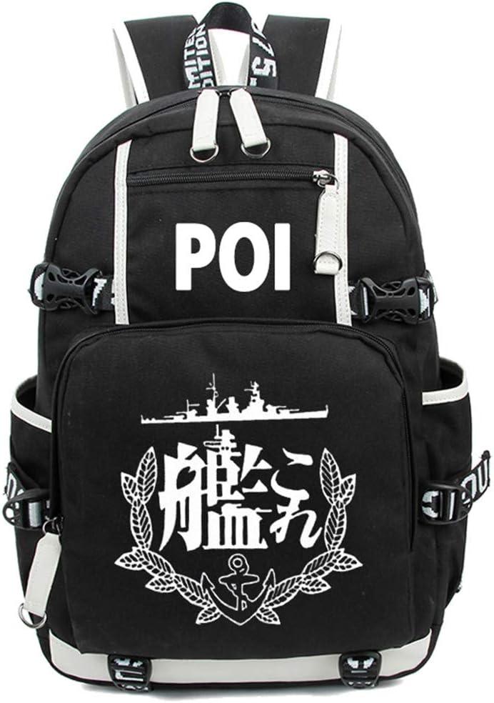 YOYOSHome Luminous Anime Kantai Collection Backpack KanColle Rucksack Daypack Laptop Bag Bookbag School Bag