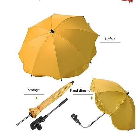 Paraguas &Doble Cubierta de Cochecito de bebé Sombrilla para ...