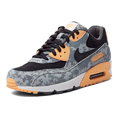 meilleur service b6187 c2b5c Amazon.com | Nike Air Max 90 Premium Digital Camo, Blue Fox ...