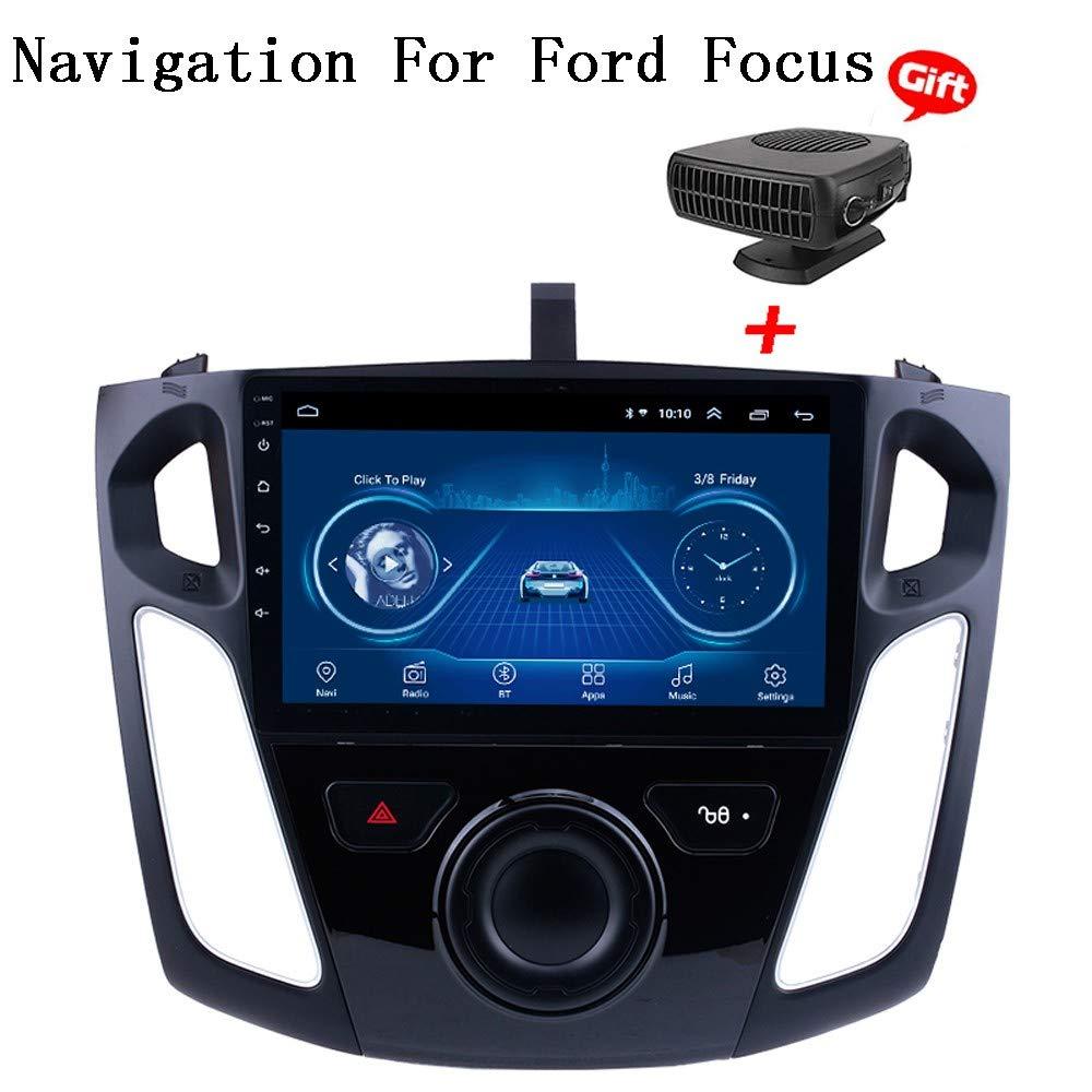 Am FM RDS XBRMMM Android 8.1 Pantalla Capacitiva Sistema Multimedia De Navegaci/ón 9 Navegaci/ón GPS T/áctil para Ford Focus 2012-2017 Soporte Bluetooth 4.0 WiFi Control De Google Volante