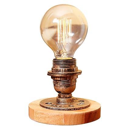 Noilyn- Lámparas de mesa americanas Mini lámparas de regalo ...