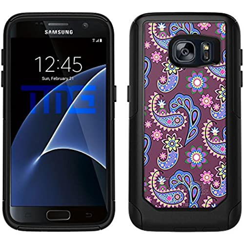 OtterBox Commuter Samsung Galaxy S7 Case - Paisley Pastel on Plum OtterBox Case Sales