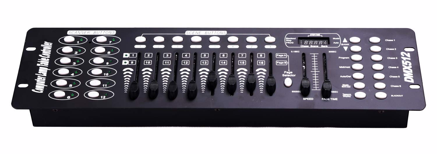Dmx Console,192CH Dmx512 Console, Controller Panel Use For Editing Program Of Stage Lighting Runing by MAD OWL
