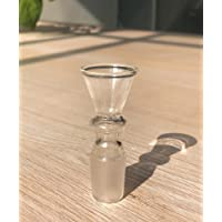 YF420 Glass Bowl with Honeycomb Screen Glass On
