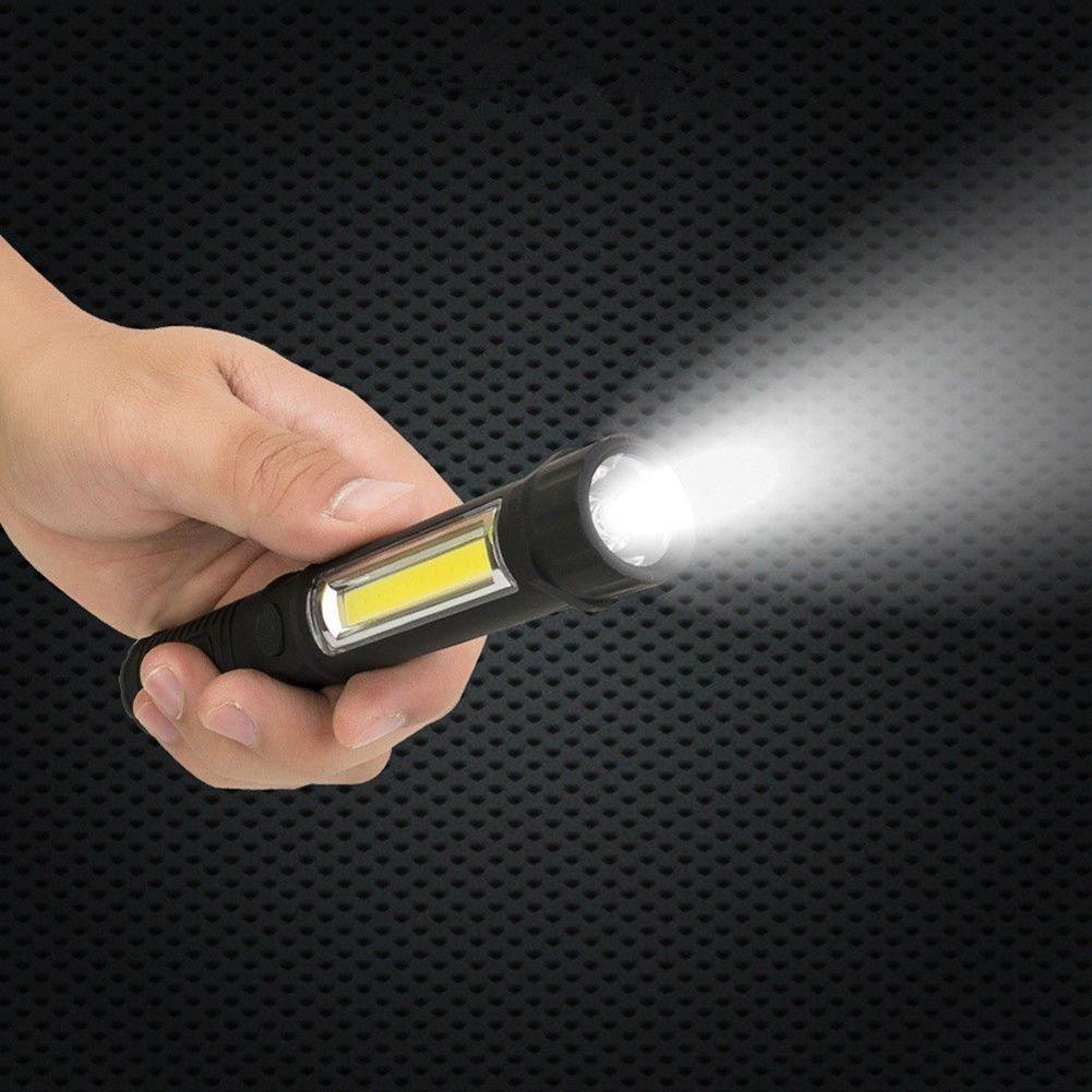 SODIAL Multifunction 1000 Lumen Rechargeable COB LED Slim Work Light Lamp Flashlight by SODIAL (Image #7)