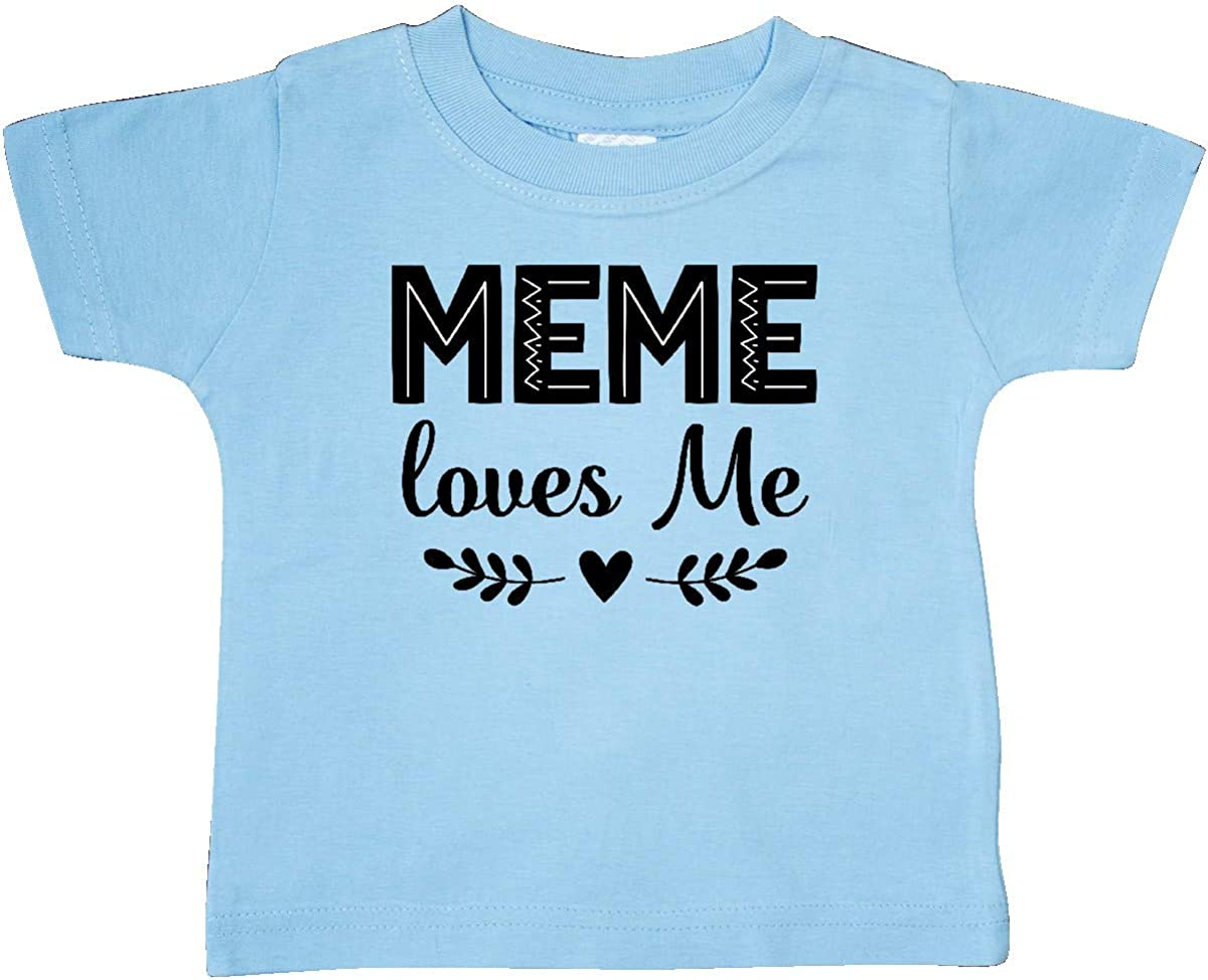 inktastic Meme Loves Me Baby Clothes Baby T-Shirt