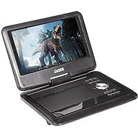 "LASER Portable DVD Player 9"" with Bonus Pack"