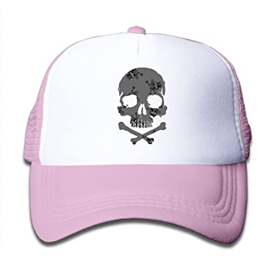 YUI Cap Skulls In Skull Boy Snap Back Mesh Caps Adjustable Trucker Caps