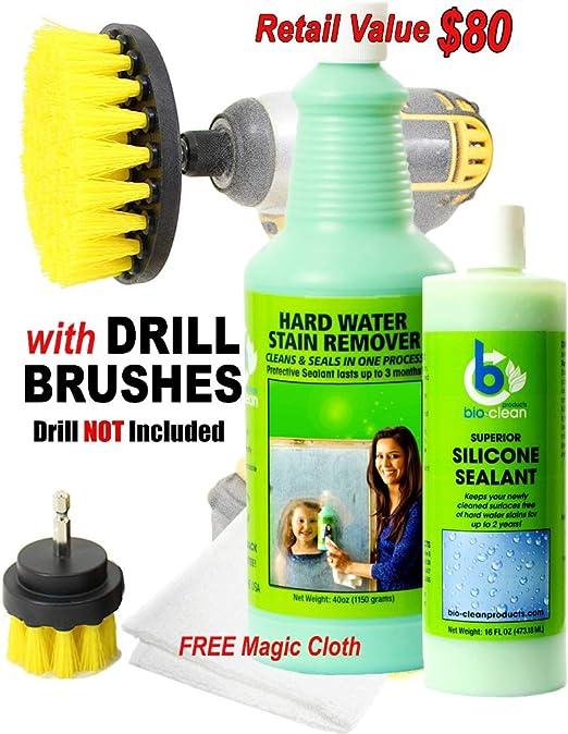 Bio Clean: duro agua quitamanchas (martillo, XL) y sellador (16 oz ...