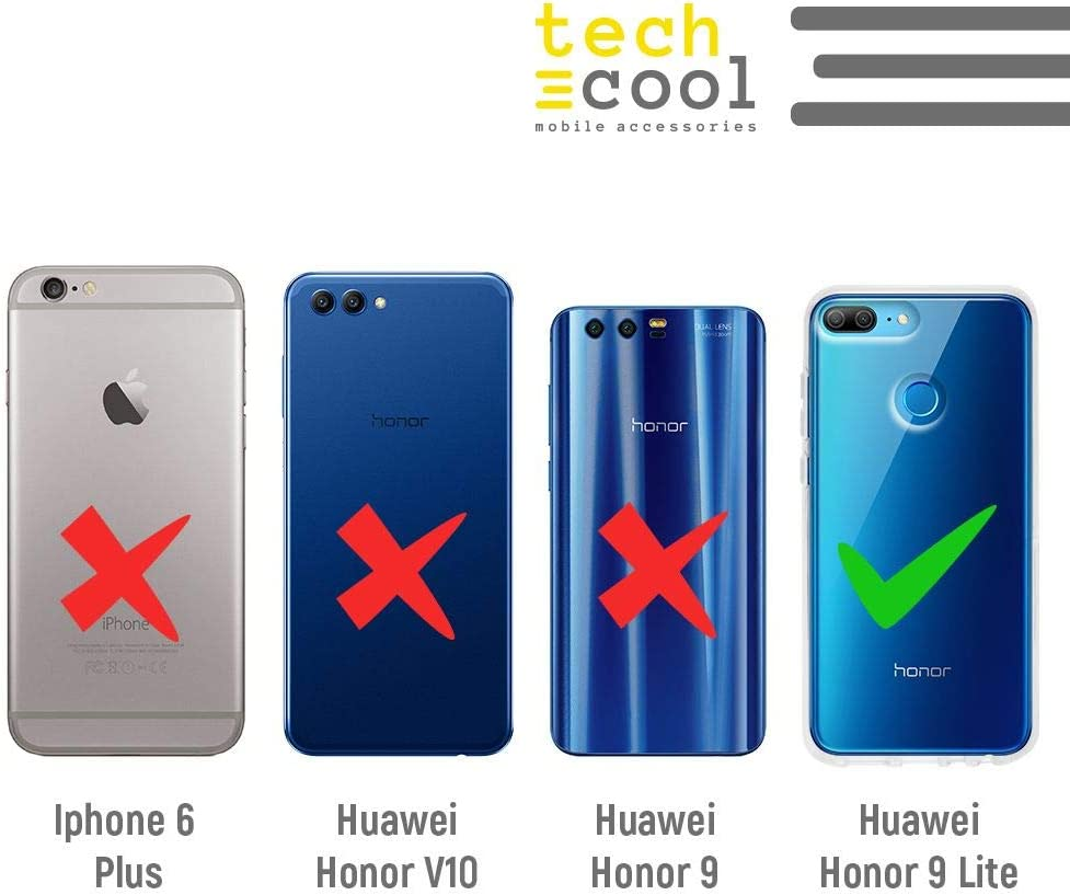 Gel Silicona Flexible, Dise/ño Exclusivo Dibujo Bruja Somos Las Hijas Fondo Morado Funnytech/® Funda Silicona para Huawei Honor 9 Lite