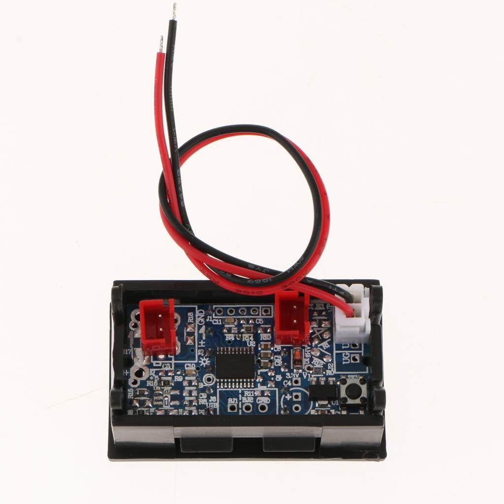 SM SunniMix Termometro Digitale Misurazione Temperatura Interno e Esterno Auto Precisione Rosso Blu