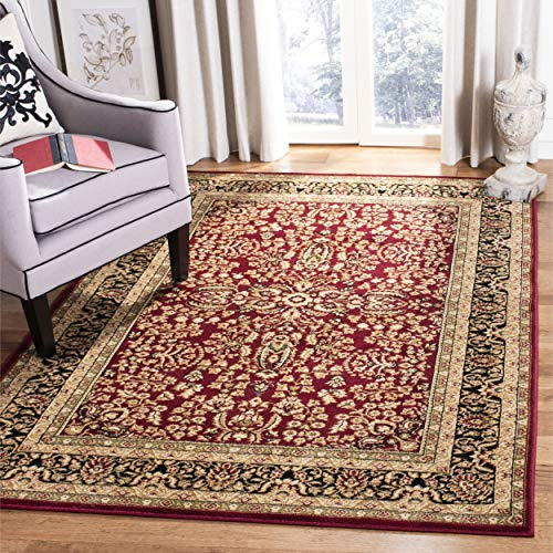Safavieh Lyndhurst Collection LNH214A Traditional Oriental Rectangle Area Rug, 8'11