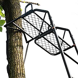 Amazon Com 15 Deluxe Hunting Ladder Stand Tree Stand