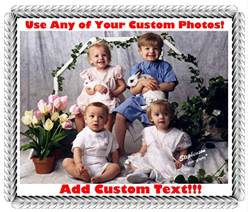 1/4 Sheet - Custom Create Your Own Cake Image - Edible Cake/Cupcake Topper!!!