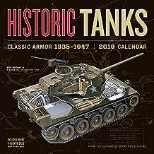 Historic Tanks Wall Calendar 2019