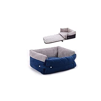 Wondrous Amazon Com Pet Dog Bed New Multi Function Clamshell Square Machost Co Dining Chair Design Ideas Machostcouk
