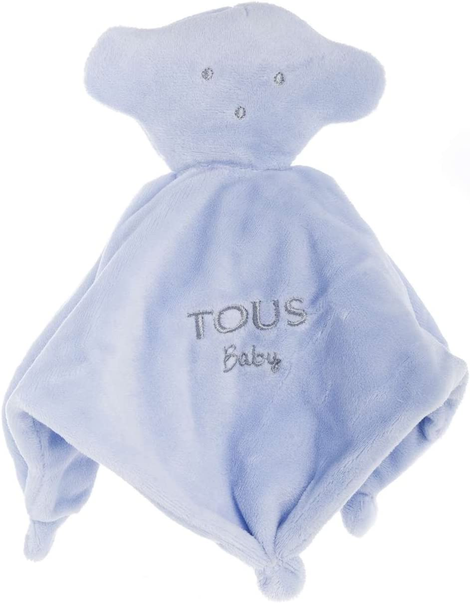 Tous Baby- Mantita de Seguridad, Color Celeste (T.Bear-602_00067_0/36M)