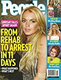 Lindsay Lohan, Tammy Faye Bakker Messner, Michelle Pfeiffer, Laila Ali, Obama Girl, Justin Timberlake - August 6, 2007 People Magazine