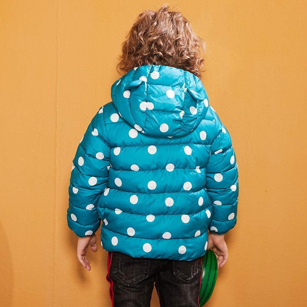 sunnymi Winterjacke M/äntel f/ür Baby Jungen und M/ädchen,1-7 Jahre Kleinkind Kinder Baby M/ädchen Jungen Kapuze Outdoor Jacke Dicker Warmer Winddichter Mantel