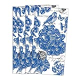 The Deborah Michel Collection Turkish Napkins (Set of 4), Indigo Cotton