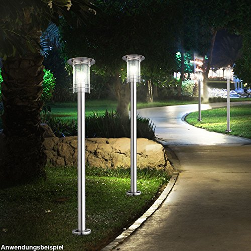 2 x lampadaire del 7 watts luminaire sur pied lampe led. Black Bedroom Furniture Sets. Home Design Ideas