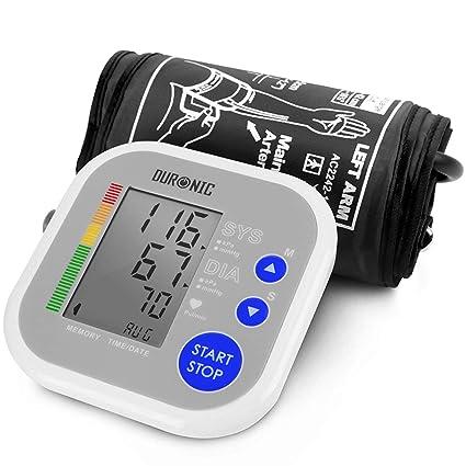 Duronic BPM080 Tensiómetro de Brazo Eléctrico con Función Memoria - Lecturas de Presión Arterial Precisas -