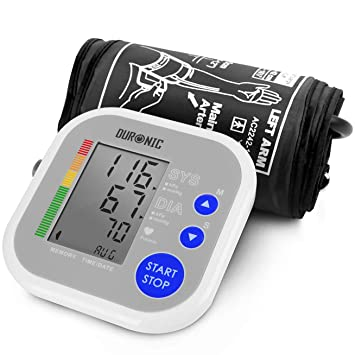 Duronic BPM080 Tensiómetro de Brazo Eléctrico con Función Memoria - Lecturas de Presión Arterial Precisas - Monitor Digital de Presión Arterial: Amazon.es: ...