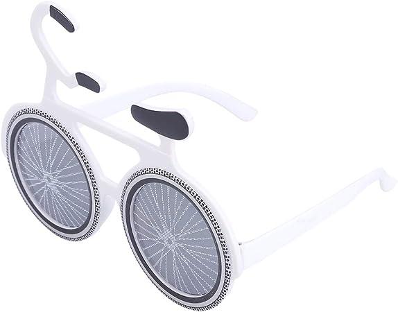 BESTOYARD Gafas de Sol de Fiesta Forma de Bicicleta Gafas de Sol ...