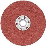 DEWALT DARC1G0515 4-1/2-Inch 50G HP Quick Lock Fiber Disc, 15-Pack