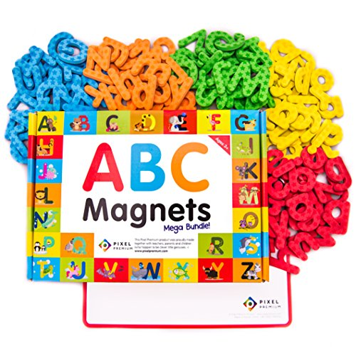 magnetic alphabet letters pixel premium abc magnets for gift set 142 magnetic 16015
