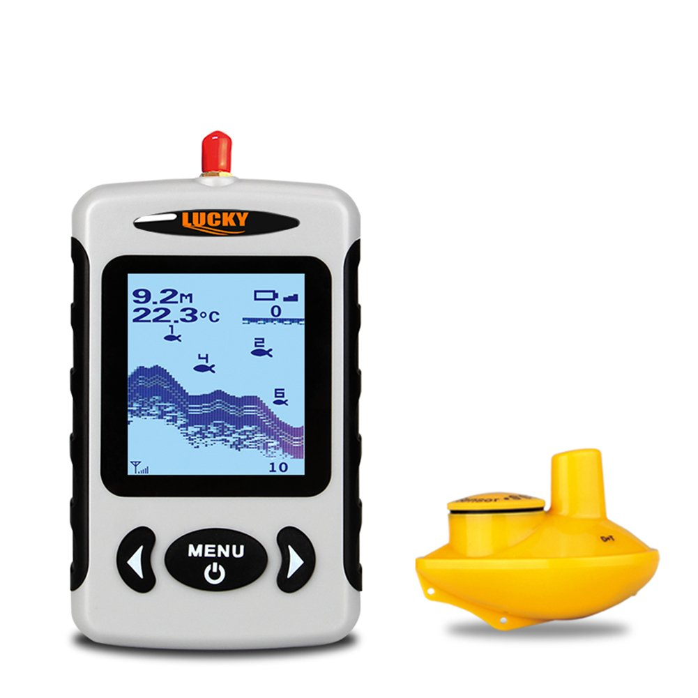 Wireless sounder for fishing in winter and summer 69