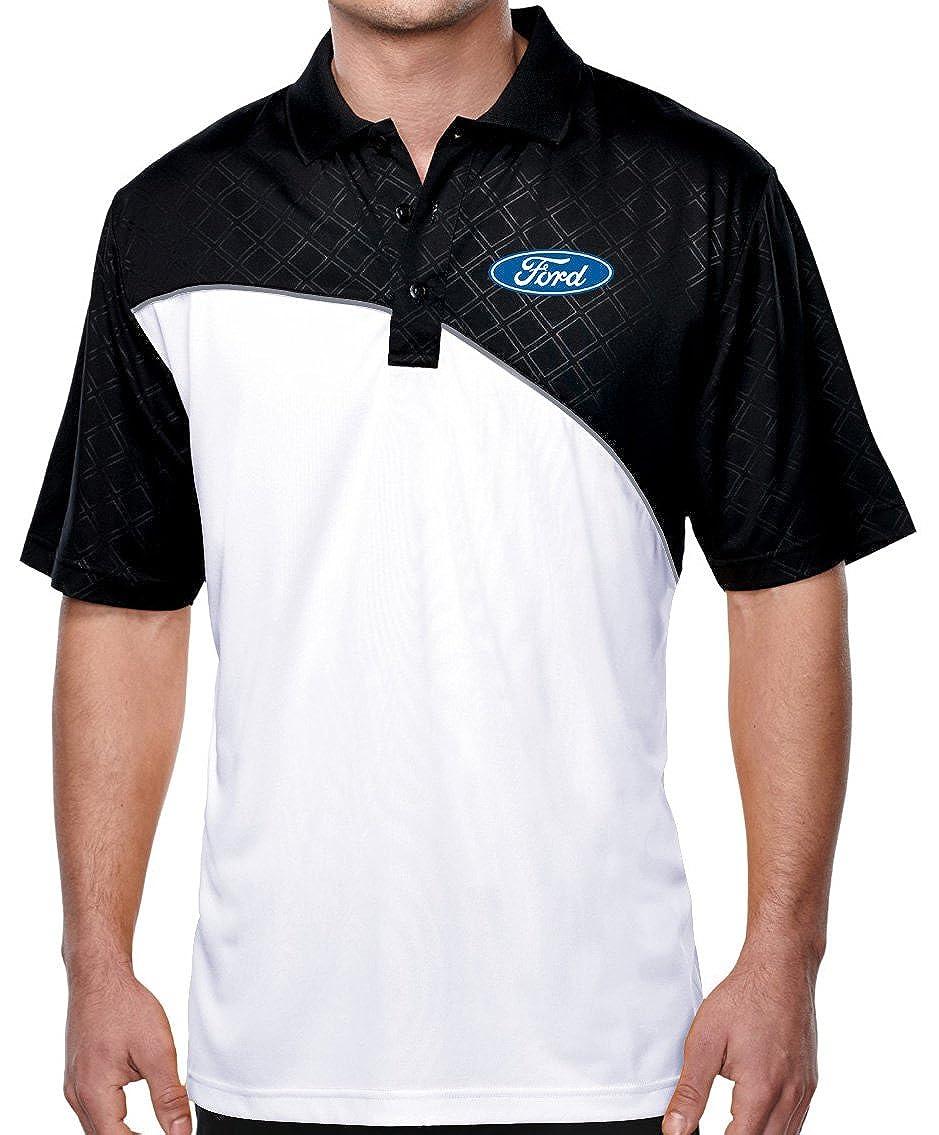 Buy Cool Shirts Mens Ford Emblem Elite Polo Shirt