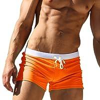 Imixcity Uomo Costume da Bagno Elastico Boxershorts con Taschino e Coulisse …