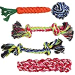 Pacific Pups Products supporting pacificpuprescue.com dog rope toys for aggressive chewers-set of 11 nearly indestructible dog toys-bonus giraffe rope toys-benefits non profit dog rescue. 17