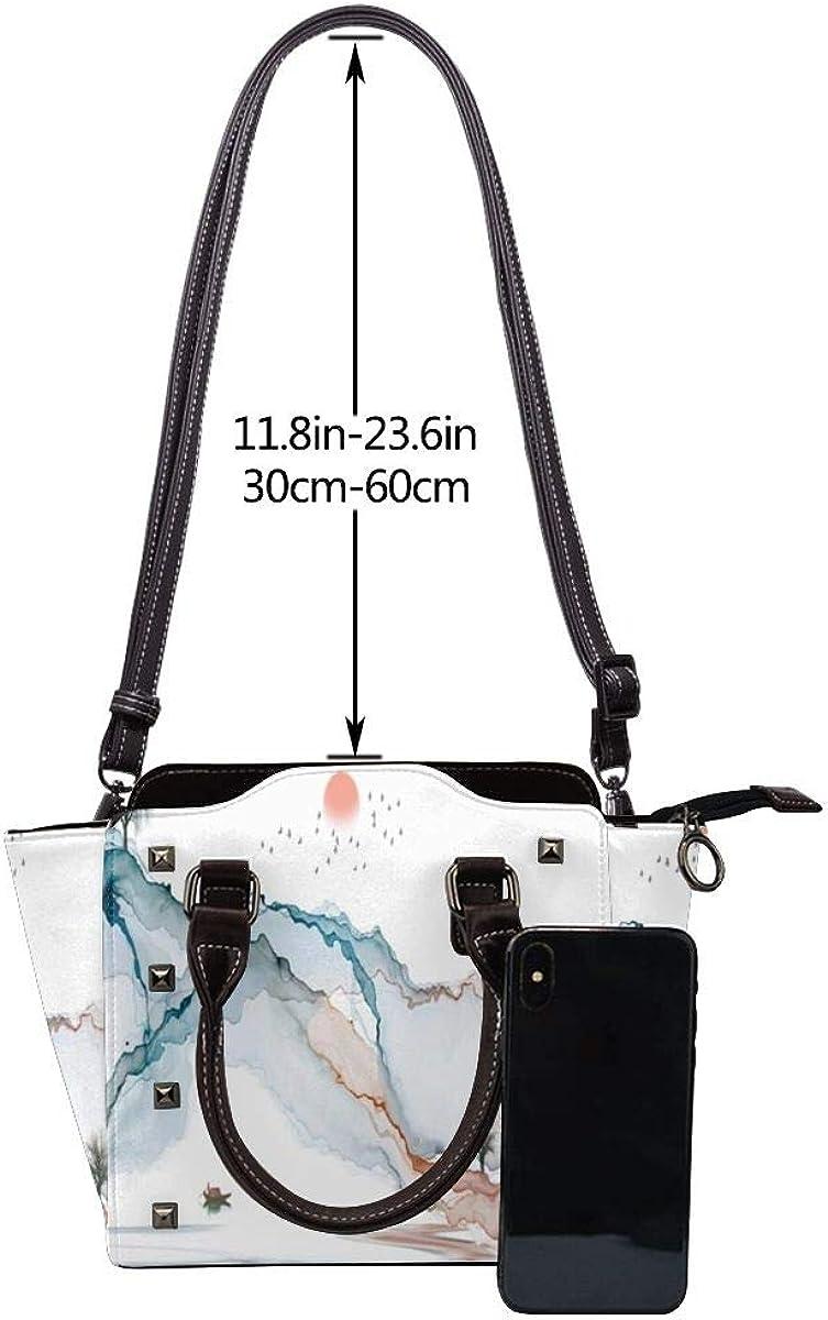 BROWCIN Koi Karpfen Fisch Wildlife Buntes buntes Tier Abnehmbare mode trend damen handtasche umhängetasche umhängetasche Cor16